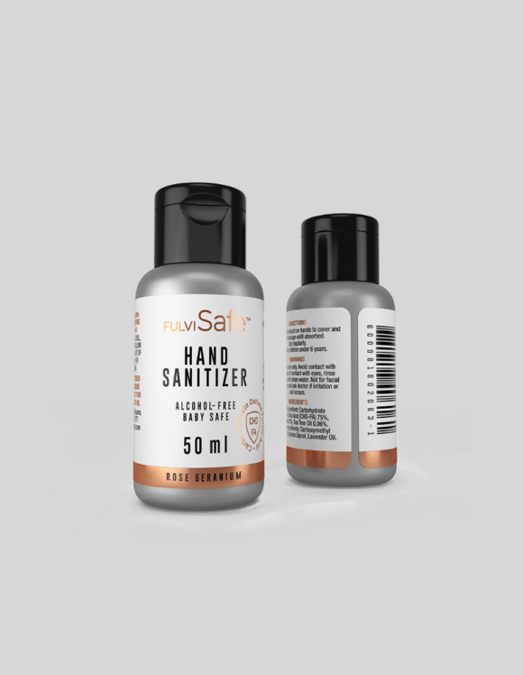 Alcohol free hand sanitizer gel