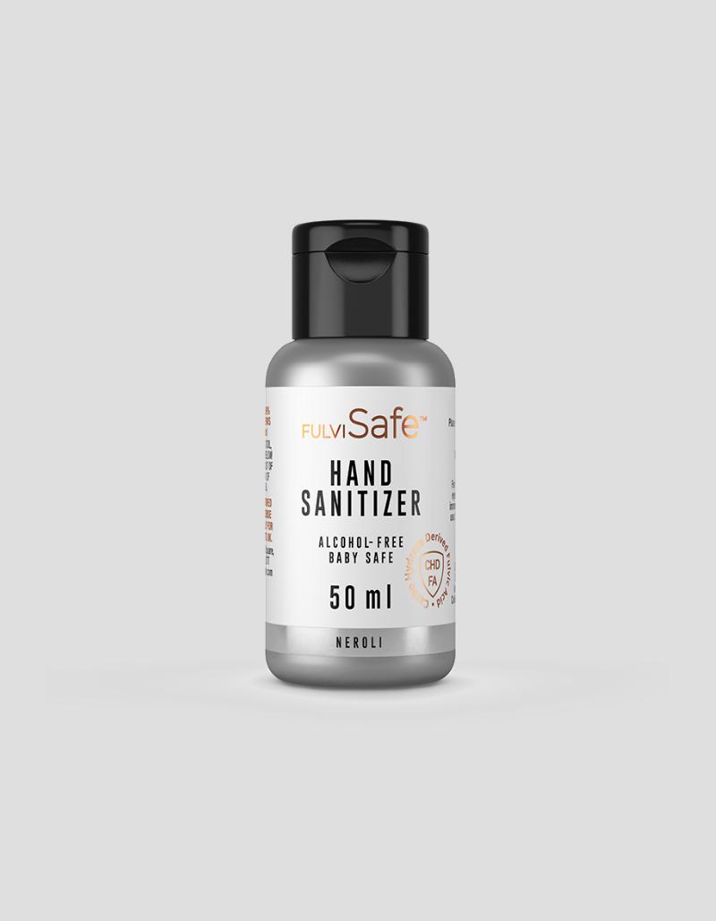 Organic hand sanitizer